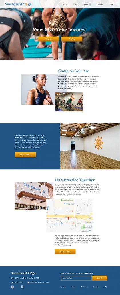 HiFi SKY Mockup Home Page